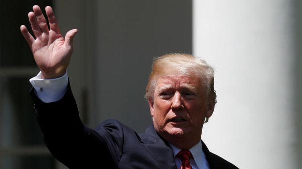 ترامب يقول إنه ربما يزور القدس لافتتاح السفارة الأمريكية