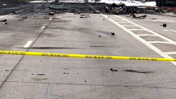 تحطم طائرة عسكرية أمريكية على متنها 9 أشخاص في ولاية جورجيا