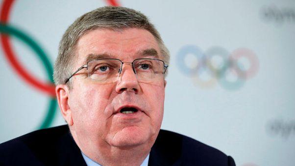 باخ: اللجنة الأولمبية الدولية ستدعم السلام بين الكوريتين بمبادرات رياضية