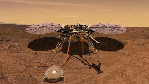 انطلاق أول مسبار آلي لدراسة المريخ من الداخل