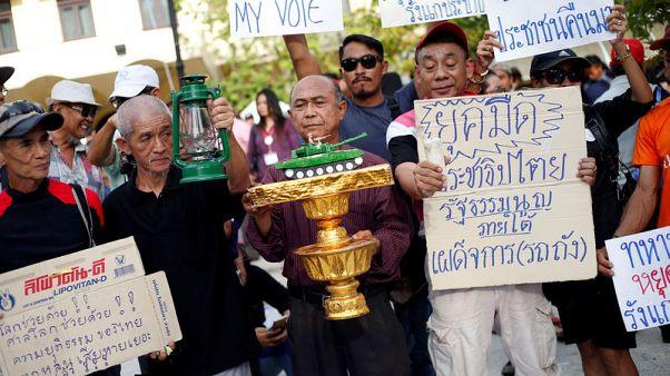 مئات يتجمعون في بانكوك لتوجيه إنذار للحكومة العسكرية