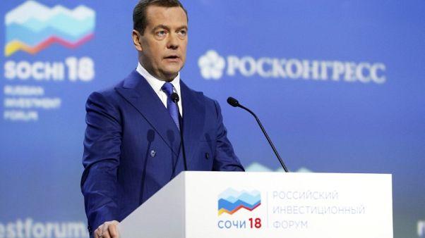 البرلمان الروسي يقر تعيين ميدفيديف رئيسا للوزراء
