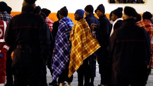 مهاجرون نيجيريون يقاضون إيطاليا بشأن تعاونها مع خفر السواحل الليبي