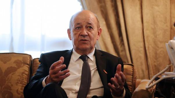 """وزير خارجية فرنسا: اتفاق إيران """"لم يمت"""" وماكرون سيتصل بروحاني"""