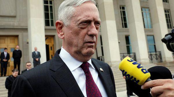 ماتيس: أمريكا ستعمل مع حلفائها لمنع إيران من امتلاك سلاح نووي