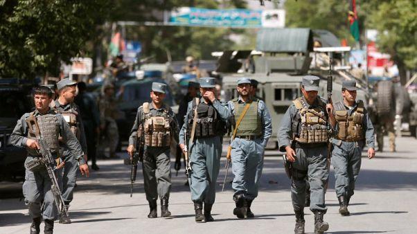 مسلحون يشنون هجمات منسقة بالقنابل والأسلحة في كابول