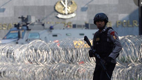 الشرطة الإندونيسية تعلن انتهاء أزمة رهائن في سجن شديد الحراسة