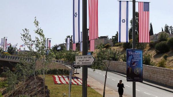 السفير الأمريكي يتيح أول نظرة على مجمع السفارة الجديد في القدس