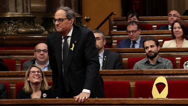 برلمان قطالونيا ينتخب كويم تورا زعيما جديدا للإقليم