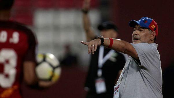 مارادونا يتولى رئاسة دينامو بريست في روسيا البيضاء