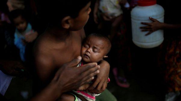 الأمم المتحدة: 60 طفلا تقريبا يولدون يوميا بمخيمات الروهينجا في بنجلادش