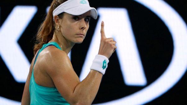 كورنيه تنسحب من بطولة ستراسبورج وتأمل في اللحاق بفرنسا المفتوحة
