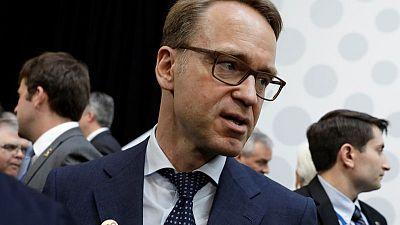 Weidmann keeps door open to bidding for ECB chief's job: report