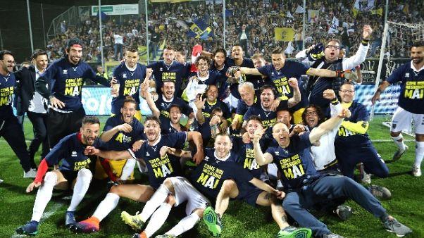 Parma in A dopo il crac, Festa di Piazza