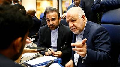 Iran says oil export drop not expected if EU saves nuclear deal