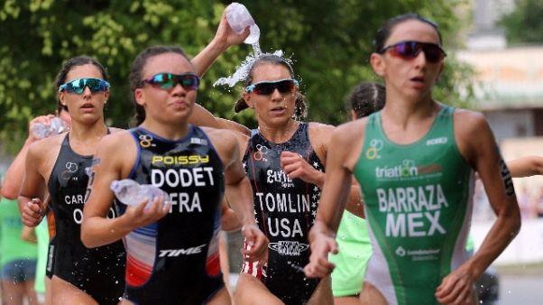 Triathlon: World Cup, la Olmo è bronzo