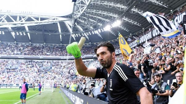L'addio di Buffon alla Juventus