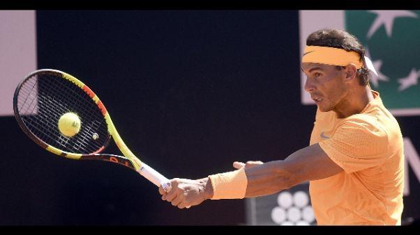 Open Bnl: Djokovic ko, Nadal in finale