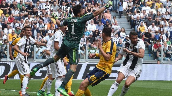 Serie A: Juventus-Verona 2-1