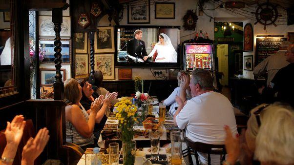 لندن - العالم يحتفل بزفاف الامير هاري وميجان