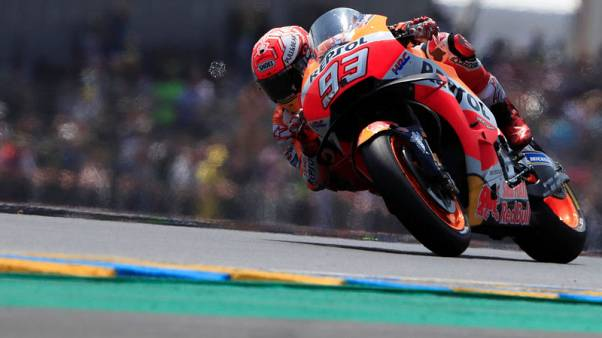 Marquez extends world championship lead with Le Mans win
