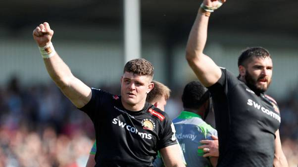 Exeter to face Saracens in English Premiership final