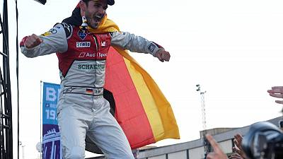 Abt wins home Berlin Formula E race in Audi one-two