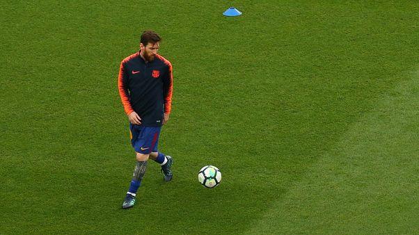 برشلونة ينوي إراحة ميسي في مباراته الأخيرة بالدوري الإسباني