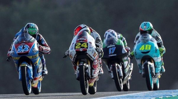 Gp Francia: Arenas vince in Moto3