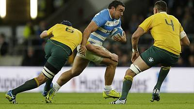 Rugby - Australia lock Arnold to miss opening match of Ireland series