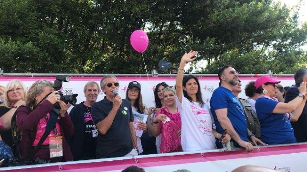 Race for the cure contro tumore al seno