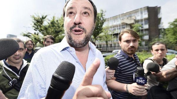 Salvini, ok accordo su premier e squadra