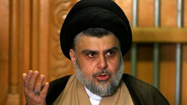 الصدر يلتقي بالعامري الموالي لإيران بعد فوزه بالانتخابات العراقية