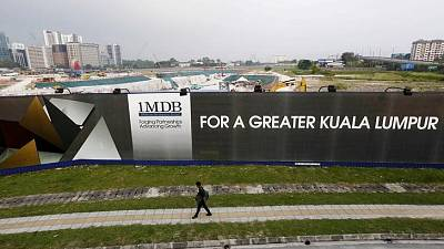 U.S. DOJ says pursuing investigations related to Malaysia's 1MDB