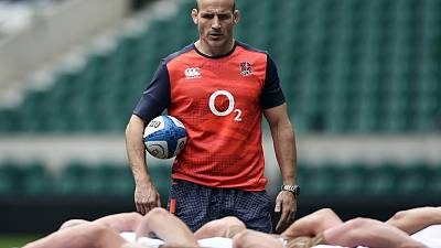 England defence coach Gustard set for Harlequins switch - reports