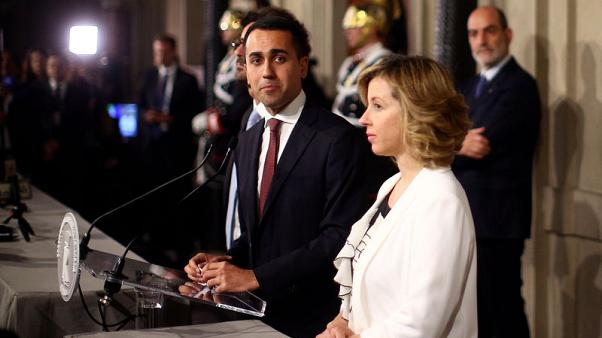 Italy's 5-Star leader says told president his recommendation for PM
