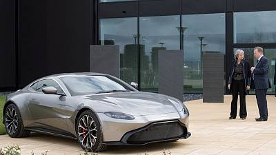 Aston Martin gears up for more growth ahead of possible flotation