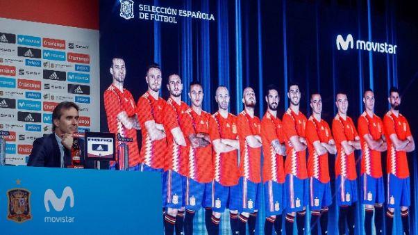 Mondiali:i 23 della Spagna, fuori Morata