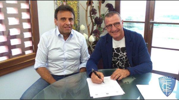 Calcio: Andreazzoli a Empoli fino a 2020