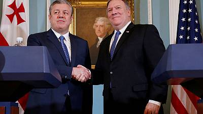 U.S.'s Pompeo pledges support for Georgia, calls for Russia troop pullout