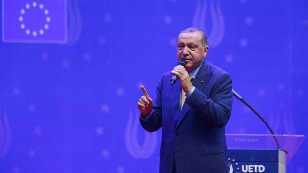 """إردوغان يقول إن الدول التي تملك أسلحة نووية """"تهدد العالم"""""""