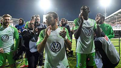 Wolfsburg stay in Bundesliga after playoff win over Kiel