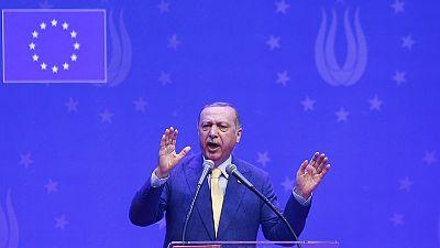 Turkey's Erdogan says nuclear-armed states 'threatening the world'