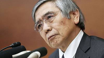 BOJ Kuroda says will take into account side effects of easy policy