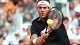 Del Potro waits to see if groin injury scuppers French Open plans