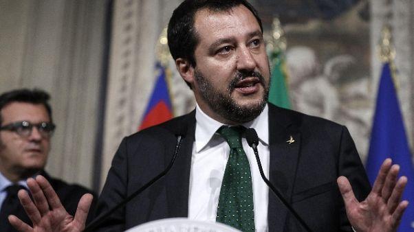 Governo:Salvini, all'estero siano sereni