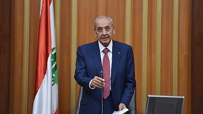 Lebanese parliament re-elects Shi'ite Berri as speaker
