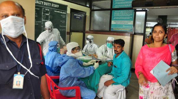 وفاة عشرة بسبب تفشي فيروس نادر بالمخ في الهند
