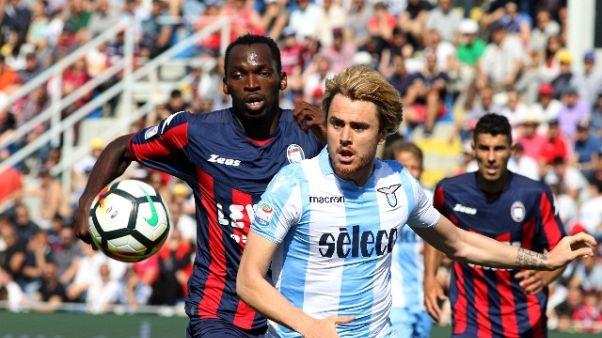 Serie A: 2 turni stop al laziale Patric
