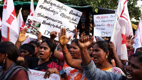 مقتل 9 في مواجهات بين الشرطة الهندية ومحتجين على مصهر للنحاس